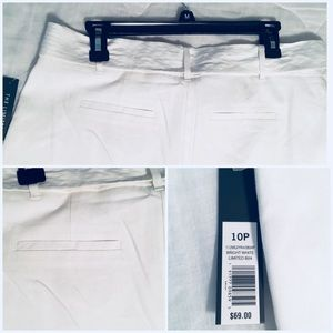 The Limited Pants - 🆕 NWT!  The Limited White Cropped Wide Leg Pants
